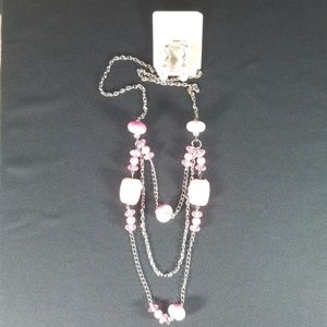 Marysol Layered Necklace With Earrings